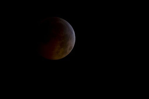 "<div class=""meta image-caption""><div class=""origin-logo origin-image ""><span></span></div><span class=""caption-text"">A photo provided by NASA  shows the total lunar eclipse as the full moon is shadowed by the Earth on the arrival of the winter solstice, Tuesday, Dec. 21, 2010 in Arlington, VA.  From beginning to end, the eclipse will last about three hours and twenty-eight minutes.  (AP Photo/NASA/Bill Ingalls) (AP Photo/ NASA/Bill Ingalls)</span></div>"