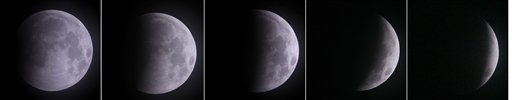 "<div class=""meta ""><span class=""caption-text "">A series of photos taken over an hour long period show the full moon as it is shadowed by the Earth as a total lunar eclipse marks the arrival of the winter solstice Tuesday, December 21, 2010 in Overland Park, Kan. (AP Photo/Charlie Riedel) (AP Photo/ Charlie Riedel)</span></div>"