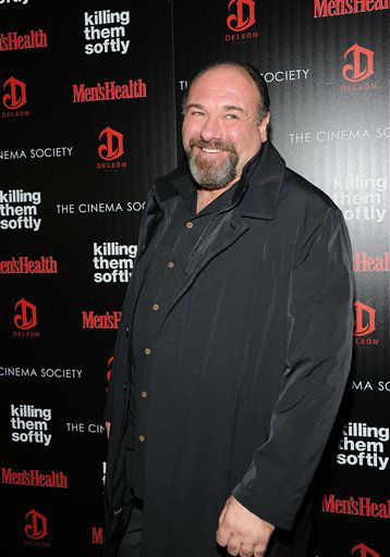 "<div class=""meta image-caption""><div class=""origin-logo origin-image ""><span></span></div><span class=""caption-text"">Actor James Gandolfini attends a special screening of ""Killing Them Softly"" hosted by The Cinema Society, Men's Health and DeLeon at the SVA Theater on Monday, Nov. 26, 2012 in New York. (Photo by Evan Agostini/Invision/AP) (Photo/Evan Agostini)</span></div>"