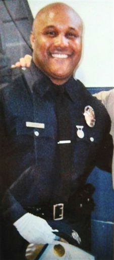 "<div class=""meta image-caption""><div class=""origin-logo origin-image ""><span></span></div><span class=""caption-text"">This undated photo released by the Los Angeles Police Department shows suspect Christopher Dorner, a former Los Angeles officer.  Dorner, who was fired from the LAPD in 2008 for making false statements, is linked to a weekend killing in which one of the victims was the daughter of a former police captain who had represented him during the disciplinary hearing. Authorities believe Dorner opened fire early Thursday on police in cities east of Los Angeles, killing an officer and wounding another.  Police issued a statewide ""officer safety warning"" and police were sent to protect people named in the posting that was believed to be written by Dorner.  (AP Photo/Los Angeles Police Department) (AP Photo/ Uncredited)</span></div>"