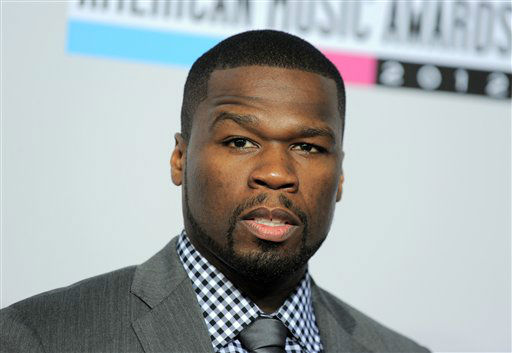 "<div class=""meta ""><span class=""caption-text "">50 Cent, born Curtis Jackson, arrives at the 40th Anniversary American Music Awards on Sunday, Nov. 18, 2012, in Los Angeles. (Photo by Jordan Strauss/Invision/AP) (AP Photo/ Jordan Strauss)</span></div>"