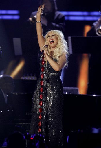 """<div class=""""meta image-caption""""><div class=""""origin-logo origin-image """"><span></span></div><span class=""""caption-text"""">Christina Aguilera performs onstage at the 53rd annual Grammy Awards on Sunday, Feb. 13, 2011, in Los Angeles. (AP Photo/Matt Sayles) (AP Photo/ Matt Sayles)</span></div>"""