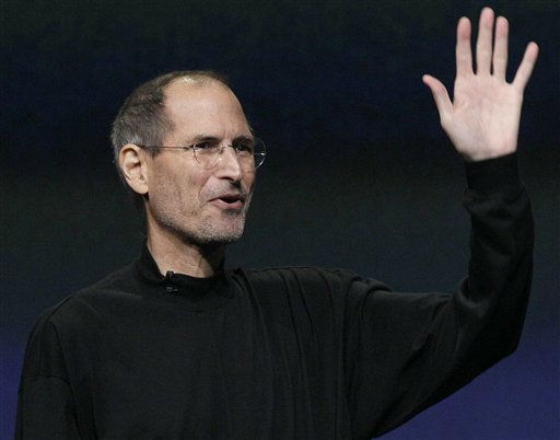 FILE - In this March 2, 2011 file photo, Apple Inc. Chairman and CEO Steve Jobs waves to his audience at an Apple event at the Yerba Buena Center for the Arts Theater in San Francisco. Apple Inc. on Wednesday, Aug. 24, 2011 said Jobs is resigning as CEO, effective immediately. &#40;AP Photo&#47;Jeff Chiu, File&#41; <span class=meta>(AP Photo&#47; Jeff Chiu)</span>