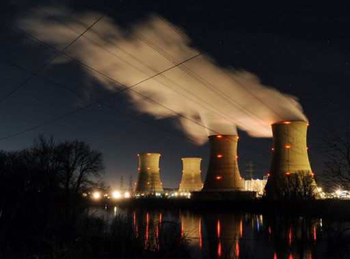 "<div class=""meta ""><span class=""caption-text "">The Three Mile Island nuclear power generating station, shown here Monday, March 28, 2011 in Middletown, Pa., continues to generate electric power with the Unit 1 reactor. TMI was the scene  of the 1979 meltdown of the Unit 2 reactor, the worst nuclear power plant disaster in the United states. (AP Photo/Bradley C Bower) (AP Photo/ BRADLEY C BOWER)</span></div>"