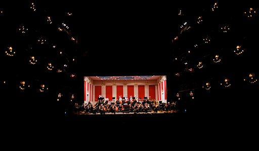 Members of the Budapest Festival Orchestra perform at the Colon Theater in Buenos, Argentina, Monday, May 2, 2011.  <span class=meta>(AP Photo&#47;Natacha Pisarenko)</span>
