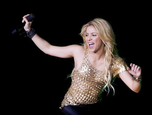 In this photo made available on Friday, May 6, 2011, Colombian singer Shakira performs during her concert in the Papp Laszlo Budapest Sports Arena in Budapest, Hungary, late Thursday, May 5, 2011. &#40;AP Photo&#47;MTI, Balazs Mohai&#41; <span class=meta>(AP Photo&#47; Balazs Mohai)</span>