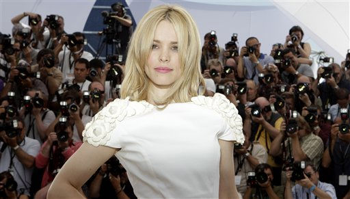 Actress Rachel McAdams poses during a photo call for Midnight in Paris, at the 64th international film festival, in Cannes, southern France, Wednesday, May 11, 2011. &#40;AP Photo&#47;Lionel Cironneau&#41; <span class=meta>(AP Photo&#47; Lionel Cironneau)</span>