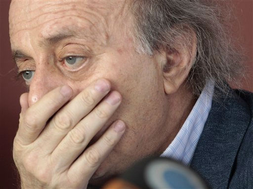 "<div class=""meta ""><span class=""caption-text "">Druse leader Walid Jumblatt, gestures as he speaks during a press conference at his house, in Beirut, Lebanon, on Friday July 1, 2011. A key Hezbollah ally warned Friday there could be civil strife in Lebanon after an international tribunal accused Hezbollah's members of killing former Prime Minister Rafik Hariri. Instead, Druse leader Walid Jumblatt said stability, rather than justice, would be more important in deeply divided Lebanon. (AP Photo/Hussein Malla) (AP Photo/ Hussein Malla)</span></div>"