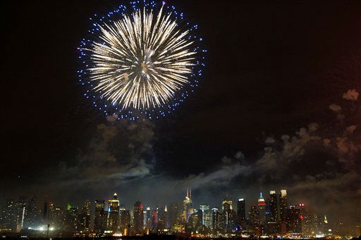 "<div class=""meta image-caption""><div class=""origin-logo origin-image ""><span></span></div><span class=""caption-text"">Fireworks explode over the Manhattan skyline during the 35th Annual Macy's Fourth of July fireworks display, Monday, July 4, 2011 as seen from Weehawken, NJ (AP Photo/Charles Sykes)</span></div>"