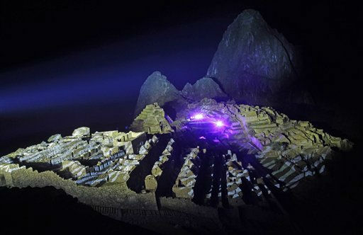 "<div class=""meta ""><span class=""caption-text "">In this photo provided by Andina Agency, a panoramic view of  the Inca citadel of Machu Picchu in Cuzco, Peru, Thursday, July 7, 2011. As the country prepares to celebrate the 100th anniversary of the rediscovery of the ""Lost City of the Incas"" on Thursday, archaeologists are warning that a heavy flow of visitors and poor administration are threatening one of the wonders of the world. The Incas built Machu Picchu atop an Andean peak with a breathtaking view across the inhospitable abysses that surround it. Some experts believe it was a refuge for one or more Inca rulers, others that it was a religious sanctuary. (AP Photo/Alberto Orbegoso/Andina Agency) (AP Photo/ Alberto Orbegoso)</span></div>"