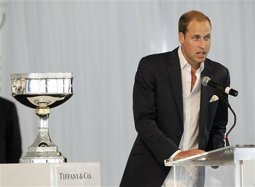 Prince William speaks at a charity polo match at the Santa Barbara Polo &amp; Racquet Club in Carpinteria, Calif., on Saturday, July 9, 2011. The event is held in support of The American Friends of The Foundation of Prince William and Prince Harry. &#40;AP Photo&#47;Alex Gallardo, pool&#41; <span class=meta>(AP Photo&#47; Alex Gallardo)</span>