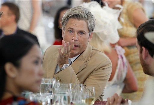 Actor Rob Lowe attends a charity polo match at the Santa Barbara Polo &amp; Racquet Club in Carpinteria, Calif., on Saturday, July 9, 2011. The event is held in support of The American Friends of The Foundation of Prince William and Prince Harry. &#40;AP Photo&#47;Alex Gallardo, pool&#41; <span class=meta>(AP Photo&#47; Alex Gallardo)</span>