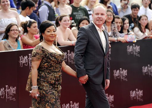 Director David Yates and wife Yvonne Walcott attend the premiere of &#39;Harry Potter and the Deathly Hallows Part 2&#39; at Avery Fisher Hall on Monday, July 11, 2011 in New York. &#40;AP Photo&#47;Evan Agostini&#41; <span class=meta>(AP Photo&#47; Evan Agostini)</span>