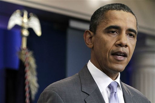 President Barack Obama speaks from the White House briefing room, Sunday, July 31, 2011, in Washington, about a deal being reached to raise the debt limit. &#40;AP Photo&#47;Jacquelyn Martin&#41; <span class=meta>(AP Photo&#47; Jacquelyn Martin)</span>