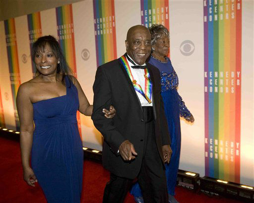 "<div class=""meta ""><span class=""caption-text "">Kennedy Center Honoree Buddy Guy arrives at the Kennedy Center for the Performing Arts for the 2012 Kennedy Center Honors Performance and Gala Sunday, Dec. 2, 2012 at the State Department in Washington. (AP Photo/Kevin Wolf) (AP Photo/ Kevin Wolf)</span></div>"
