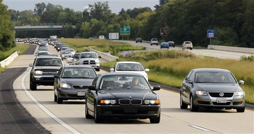 Traffic is bumper to bumper as people leave the Delaware beaches northbound on Highway 1in advance of Hurricane Irene Friday, Aug. 26, 2011, Near Smyrna, Del. &#40;AP Photo&#47;Alex Brandon&#41; <span class=meta>(AP Photo&#47; Alex Brandon)</span>