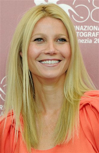 Actress Gwyneth Paltrow poses during the photo call for the movie Contagion at the 68th edition of the Venice Film Festival in Venice, Italy, Saturday, Sept. 3, 2011. &#40;AP Photo&#47;Jonathan Short&#41; <span class=meta>(AP Photo&#47; Jonathan Short)</span>