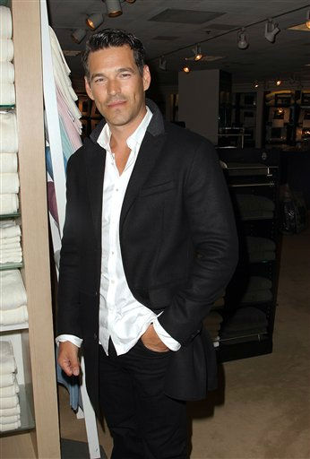 Actor Eddie Cibrian, from the upcoming NBC series &#34;The Playboy Club,&#34; attends the Fashion Night Out event at  Bloomingdale&#39;s, Thursday, Sept. 8, 2011, in New York. &#40;AP Photo&#47;Donald Traill&#41; <span class=meta>(AP Photo&#47; Donald Traill)</span>