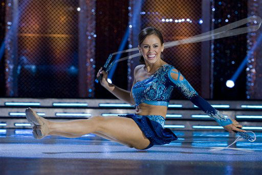 "<div class=""meta image-caption""><div class=""origin-logo origin-image ""><span></span></div><span class=""caption-text"">This Jan. 12, 2012 photo provided by Miss America shows, Miss Hawaii, Lauren Cheape jumping rope and topped the contestants in the third round of the Miss America talent competition in Las Vegas, on Thur. Jan.12,2012. The finals are Saturday at the Planet Hollywood Resort & Casino. (AP Photo Miss America) (AP Photo/ Anonymous)</span></div>"