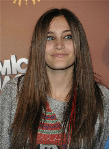 Paris Jackson arrives at the opening night of the Michael Jackson The Immortal World Tour in Los Angeles on Friday, Jan. 27, 2012. &#40;AP Photo&#47;Dan Steinberg&#41; <span class=meta>(AP Photo&#47; Dan Steinberg)</span>