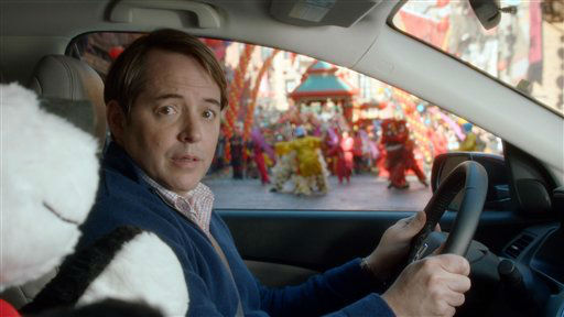 Award-winning actor Matthew Broderick is playing himself in a grown-up version of his celebrated role to promote the all-new 2012 Honda CR-V in a new Super Bowl commercial to air at the start of the fourth quarter. (PRNewsFoto/American Honda Motor Co., Inc.)