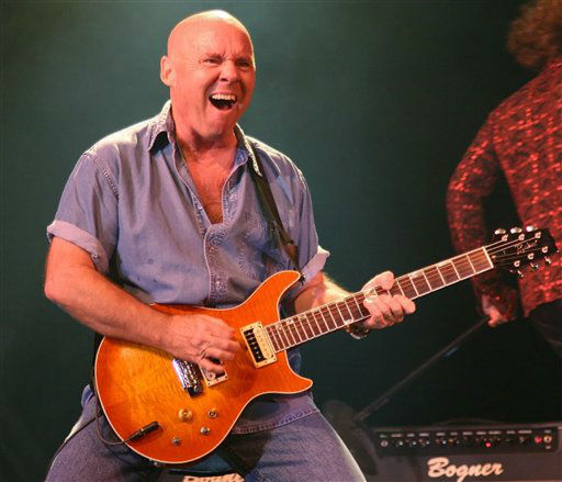 "<div class=""meta ""><span class=""caption-text "">This undated photo provided by Prime Time Entertainment Inc. shows Rock guitarist Ronnie Montrose. Montrose, who formed the band that bore his name and performed with some of rock's heavy hitters, passed away at his home in Millbrae, Calif. on Saturday, March 3, 2012, his booking agent said. He was 64. (AP Photo/Prime Time Entertainment Inc) (AP Photo/ Anonymous)</span></div>"