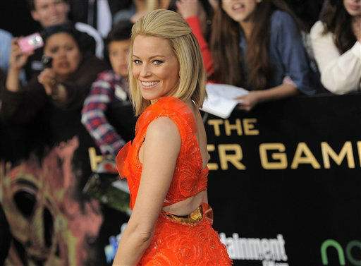 Elizabeth Banks arrives at the world premiere of &#34;The Hunger Games&#34; on Monday March 12, 2012 in Los Angeles. &#40;AP Photo&#47;Chris Pizzello&#41; <span class=meta>(AP Photo&#47; Chris Pizzello)</span>
