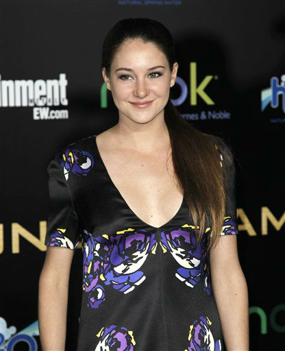 "<div class=""meta image-caption""><div class=""origin-logo origin-image ""><span></span></div><span class=""caption-text"">Shailene Woodley arrives at the world premiere of ""The Hunger Games"" on Monday March 12, 2012 in Los Angeles. (AP Photo/Matt Sayles) (AP Photo/ Matt Sayles)</span></div>"