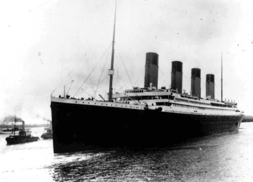 The liner Titanic leaves Southampton, England on her maiden voyage Wednesday, April 10, 1912. &#40;AP photo&#41; <span class=meta>(AP Photo&#47; XCJ HMB)</span>