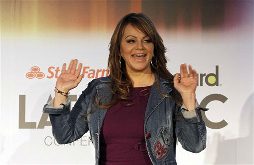 Singer Jenni Rivera waves as she arrives for an interview in Miami, Wednesday, April 25, 2012. &#40;AP Photo&#47;Alan Diaz&#41; <span class=meta>(AP Photo&#47; Alan Diaz)</span>