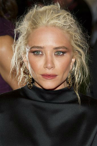 Mary-Kate Olsen arrives at the Metropolitan Museum of Art Costume Institute gala benefit, celebrating Elsa Schiaparelli and Miuccia Prada, Monday, May 7, 2012 in New York. &#40;AP Photo&#47;Charles Sykes&#41; <span class=meta>(AP Photo&#47; Charles Sykes)</span>
