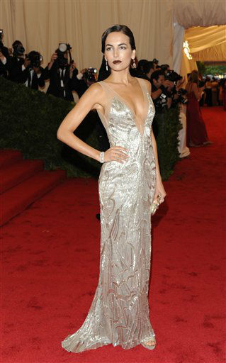 "<div class=""meta ""><span class=""caption-text "">Camilla Belle arrives at the Metropolitan Museum of Art Costume Institute gala benefit, celebrating Elsa Schiaparelli and Miuccia Prada, Monday, May 7, 2012 in New York. (AP Photo/Evan Agostini) (AP Photo/ Evan Agostini)</span></div>"