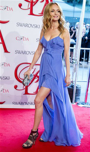 "<div class=""meta image-caption""><div class=""origin-logo origin-image ""><span></span></div><span class=""caption-text"">Heather Graham arrives at the CFDA Fashion Awards on Monday, June 4, 2012, in New York. (Photo by Charles Sykes/Invision/AP) (Photo/Charles Sykes)</span></div>"