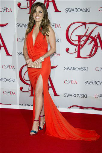 "<div class=""meta image-caption""><div class=""origin-logo origin-image ""><span></span></div><span class=""caption-text"">Sophia Bush arrives at the CFDA Fashion Awards on Monday, June 4, 2012 in New York. (Photo by Charles Sykes/Invision/AP) (Photo/Charles Sykes)</span></div>"
