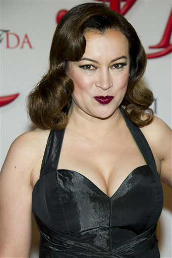 "<div class=""meta image-caption""><div class=""origin-logo origin-image ""><span></span></div><span class=""caption-text"">Jennifer Tilly arrives at the CFDA Fashion Awards on Monday, June 4, 2012 in New York. (Photo by Charles Sykes/Invision/AP) (Photo/Charles Sykes)</span></div>"