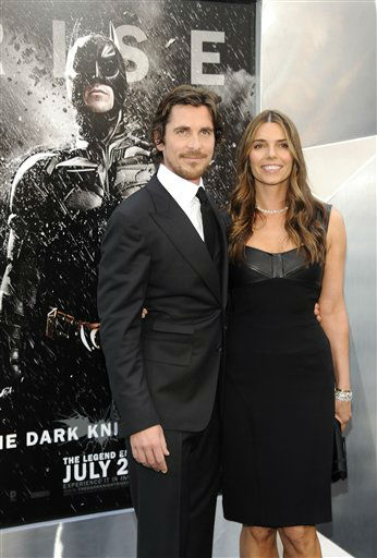 "<div class=""meta image-caption""><div class=""origin-logo origin-image ""><span></span></div><span class=""caption-text"">Actor Christian Bale and wife Sibi Blazic  attend the world premiere of ""The Dark Knight Rises"" at the AMC Lincoln Square Theater on Monday July 16, 2012 in New York. (Photo by Evan Agostini/Invision/AP) (Photo/Evan Agostini)</span></div>"