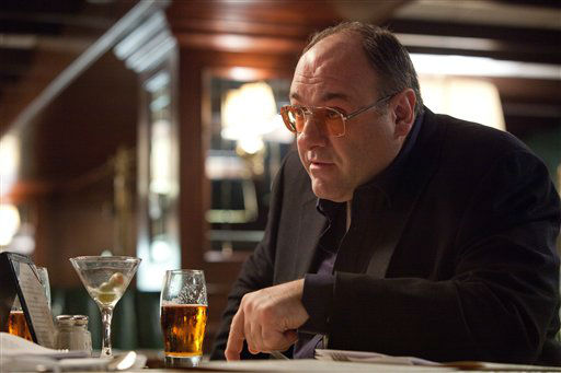 "<div class=""meta ""><span class=""caption-text "">FILE - This publicity film image released by The Weinstein Company shows James Gandolfini in a scene from ""Killing Them Softly."" In the five years since ?The Sopranos? ended, Gandolfini has eschewed the spotlight, instead disappearing into character actor performances such as this one. These roles, while they may lack the iconography of Tony Soprano, have only further proved the actor's wide-ranging talent. (AP Photo/The Weinstein Company, Melinda Sue Gordon, File) (AP Photo/ Melinda Sue Gordon)</span></div>"