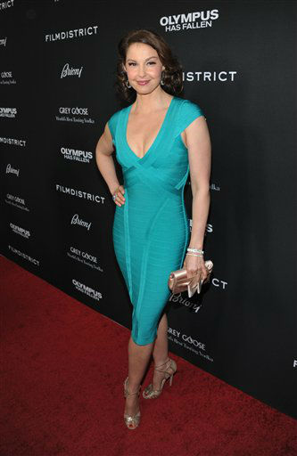 Ashley Judd arrives at the premiere of &#34;Olympus Has Fallen&#34; at the ArcLight Theatre on Monday, March 18, 2013 in Los Angeles. &#40;Photo by John Shearer&#47;Invision&#47;AP&#41; <span class=meta>(Photo&#47;John Shearer)</span>