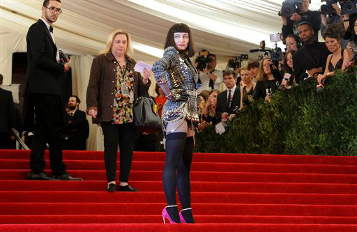 "<div class=""meta image-caption""><div class=""origin-logo origin-image ""><span></span></div><span class=""caption-text"">Singer Madonna attends The Metropolitan Museum of Art  Costume Institute gala benefit, ""Punk: Chaos to Couture"", on Monday, May 6, 2013 in New York. (Photo by Evan Agostini/Invision/AP) (Photo/Evan Agostini)</span></div>"
