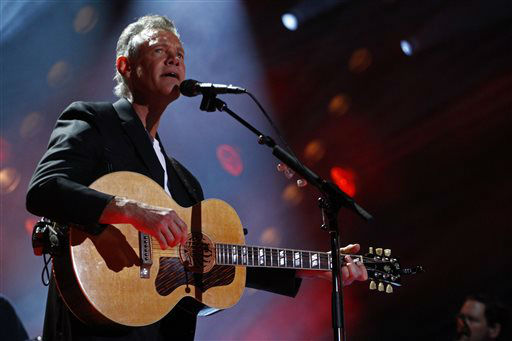 "<div class=""meta ""><span class=""caption-text "">Randy Travis performs on day 2 of the 2013 CMA Music festival at the LP Field on Friday, June 7, 2013 in Nashville, Tenn. (Photo by Wade Payne/Invision/AP) (Photo/Wade Payne)</span></div>"