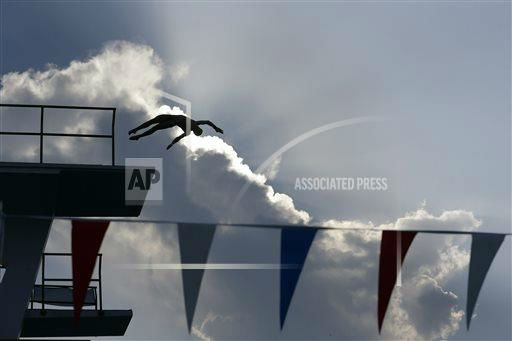 "<div class=""meta image-caption""><div class=""origin-logo origin-image ""><span></span></div><span class=""caption-text"">Steele Johnson competes during a semifinal round of the men's 10-meter platform event at the USA Diving Grand Prix, Thursday, May 9, 2013, in Fort Lauderdale, Fla. (AP Photo/Wilfredo Lee) </span></div>"