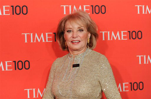 Barbara Walters attends the Time 100 Gala, a celebration of TIME Magazine&#39;s 100 most influential people in the world, on Tuesday, May 5, 2009 in New York.  <span class=meta>(AP Photo&#47; Evan Agostini)</span>