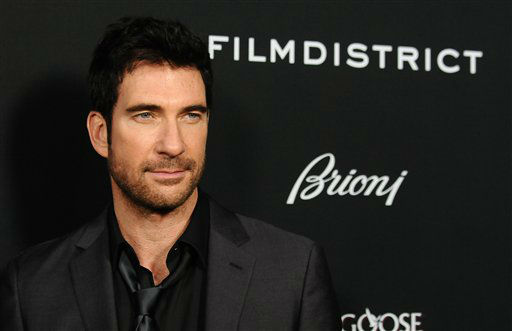 "Dylan McDermott arrives at the LA premiere of ""Olympus Has Fallen"" at the ArcLight Theatre on Monday, March 18, 2013 in Los Angeles. (Photo by Jordan Strauss/Invision/AP)"