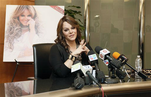 Jenni Rivera attends a press conference on Friday, Aug. 24, 2012, in Woodland Hills, California. &#40;Photo by Todd Williamson&#47;Invision&#47;AP&#41; <span class=meta>(AP Photo&#47; Todd Williamson)</span>