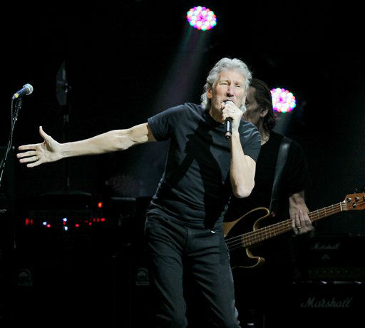 This image released by Starpix shows Roger Waters performing at the 12-12-12 The Concert for Sandy Relief at Madison Square Garden in New York on Wednesday, Dec. 12, 2012. Proceeds from the show will be distributed through the Robin Hood Foundation. &#40;AP Photo&#47;Starpix, Dave Allocca&#41; <span class=meta>(AP Photo&#47; Dave Allocca)</span>
