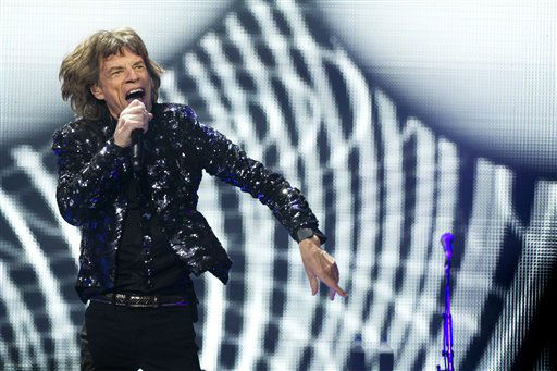 Mick Jagger of The Rolling Stones performs in concert on Saturday, Dec. 8, 2012 in New York. &#40;Photo by Charles Sykes&#47;Invision&#47;AP&#41; <span class=meta>(Photo&#47;Charles Sykes)</span>
