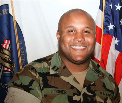 "<div class=""meta image-caption""><div class=""origin-logo origin-image ""><span></span></div><span class=""caption-text"">This undated photo released by the Los Angeles Police Department shows suspect Christopher Dorner, a former Los Angeles officer.  Dorner, who was fired from the LAPD in 2008 for making false statements, is linked to a weekend killing in which one of the victims was the daughter of a former police captain who had represented him during the disciplinary hearing. Authorities believe Dorner opened fire early Thursday on police in cities east of Los Angeles, killing an officer and wounding another.  Police issued a statewide ""officer safety warning"" and police were sent to protect people named in the posting that was believed to be written by Dorner.  (AP Photo/Los Angeles Police Department) (AP Photo/ HOPD)</span></div>"