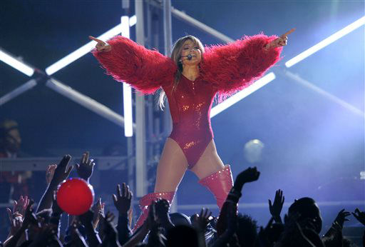Jennifer Lopez performs at the Billboard Music Awards at the MGM Grand Garden Arena on Sunday, May 19, 2013 in Las Vegas. &#40;Photo by Chris Pizzello&#47;Invision&#47;AP&#41; <span class=meta>(AP Photo&#47; Chris Pizzello)</span>