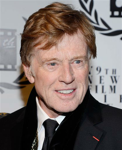 Best Actor winner Robert Redford attends the 79th Annual New York Film Critics Circle Awards at the Edison Ballroom on Monday, Jan. 6, 2014 in New York. (Photo by Evan Agostini/Invision/AP)