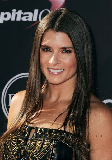 NASCAR driver Danica Patrick arrives at the ESPY Awards on Wednesday, July 17, 2013, at Nokia Theater in Los Angeles. &#40;Photo by Jordan Strauss&#47;Invision&#47;AP&#41; <span class=meta>(Photo&#47;Jordan Strauss)</span>
